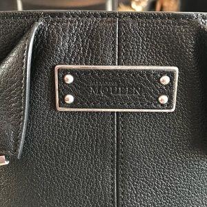 Alexander McQueen Bags - 💯%authentic NWT Alexander McQueen blk Caviar bag